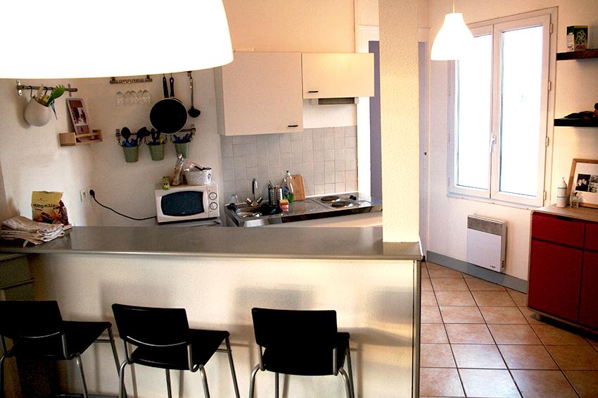 T2 meuble bordeaux chartrons avec lave linge property for Appartement bordeaux chartrons t2