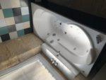 baignoire sous sol
