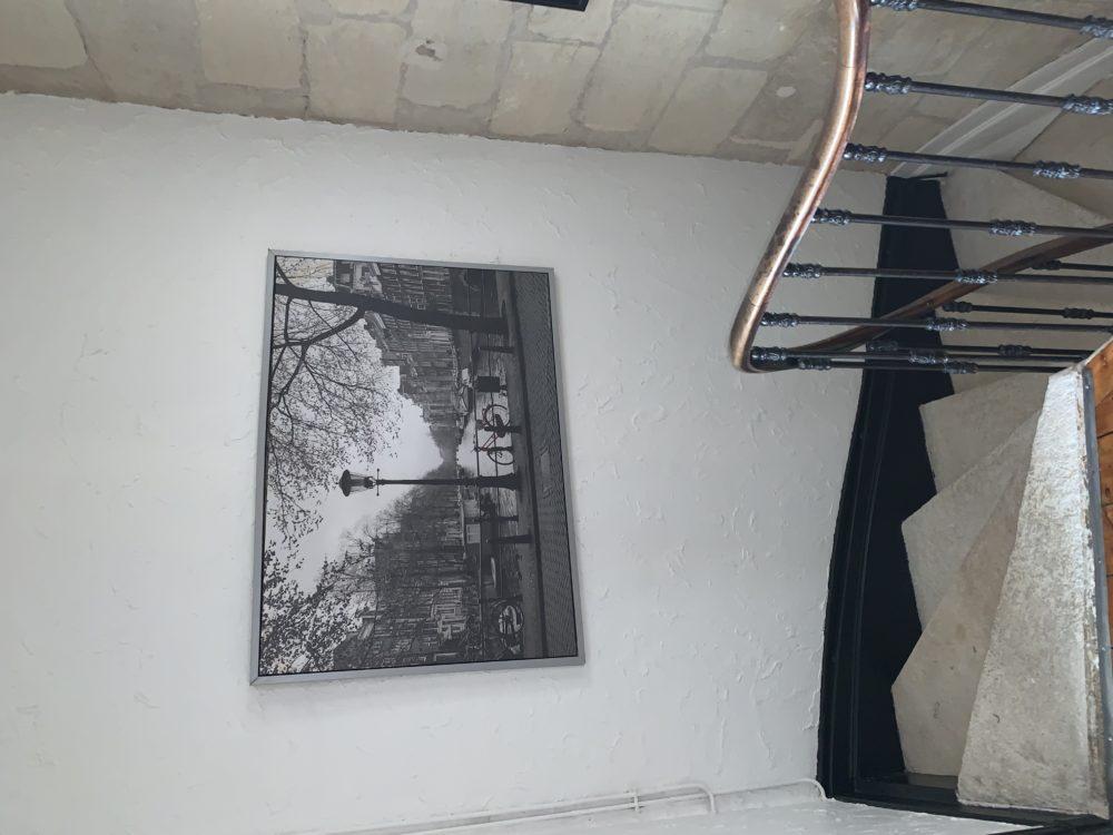 haut de l'escalier 1er étage